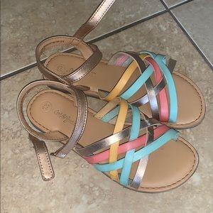 Cat & Jack sandals. Size 13